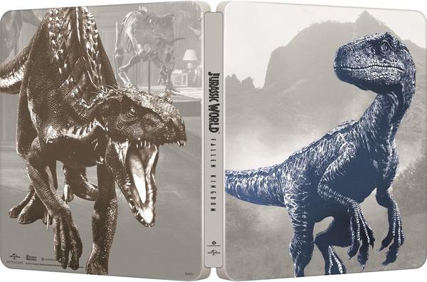 ジュラシック・ワールド/炎の王国 スチールブック Jurassic World: Fallen Kingdom steelbook Japan JP