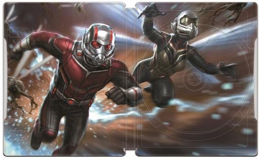 アントマン&ワスプ 4K UHD MovieNEXプレミアムBOX スチールブック Ant-Man and the Wasp steelbook Japan JP