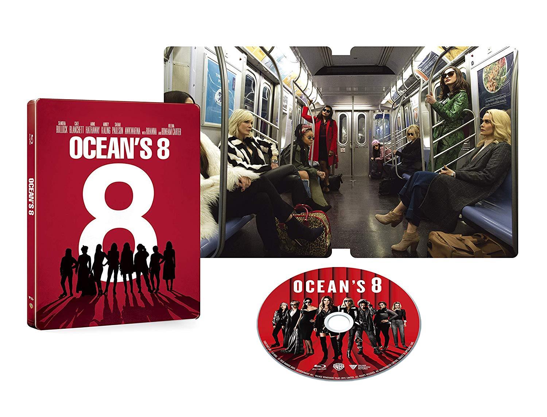 オーシャンズ8 スチールブック Ocean's Eight steelbook Japan JP