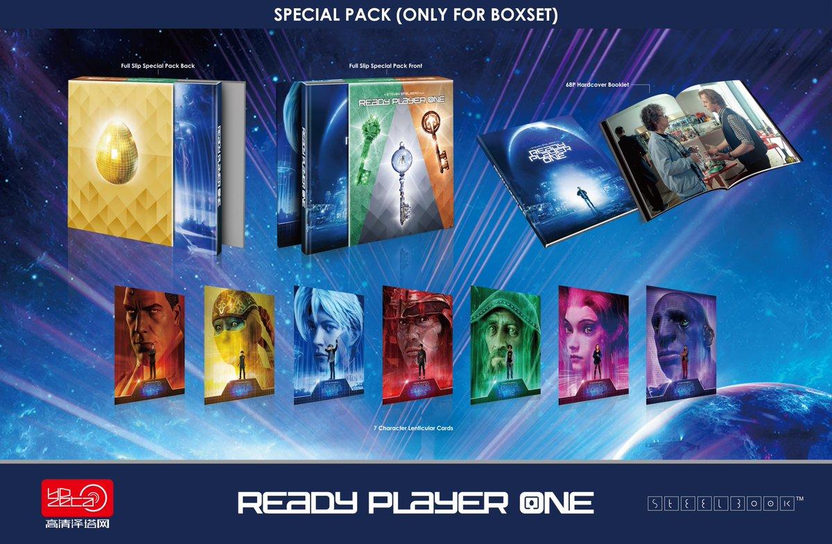レディ・プレイヤー1 中国 HDZeta スチールブック Ready Player One steelbook