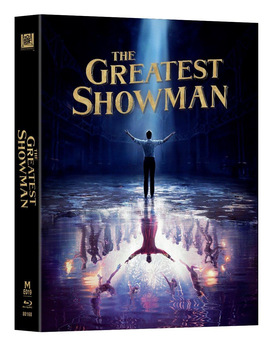 グレイテスト・ショーマン スチールブック 香港 Manta Lab The Greatest Showman steelbook