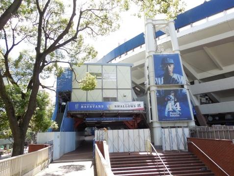 増築工事中の横浜スタジアムh