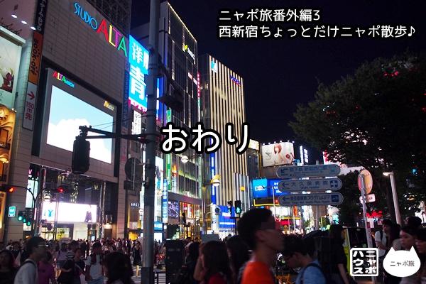 ニャポ旅番外編3 西新宿