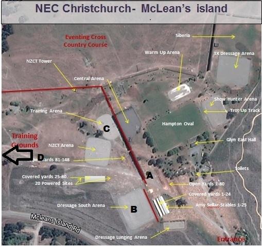 MAP of NECa