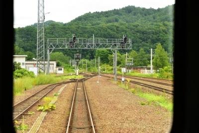 新夕張駅発車