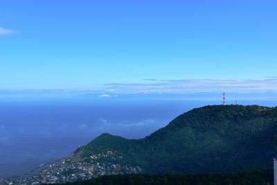 津軽海峡の彼方に下北半島