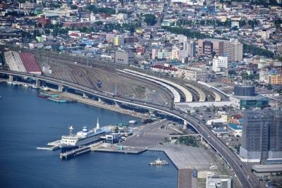 函館駅構内