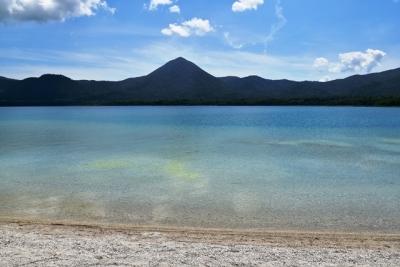 大尽山と宇曽利山湖