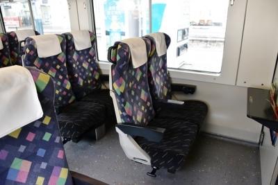 普通車座席 E257系