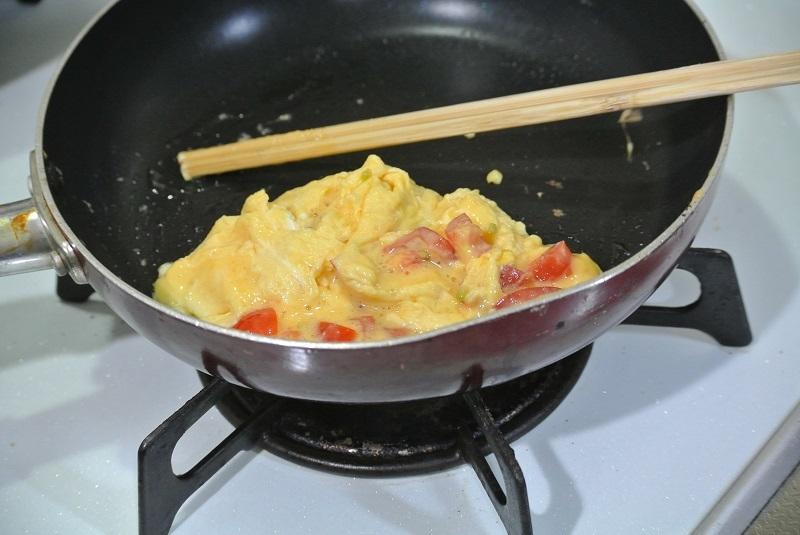トマトオムレツ2