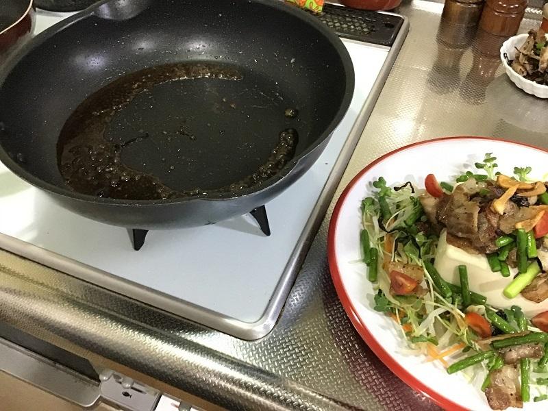 野菜たっぷり豆腐サラダ7