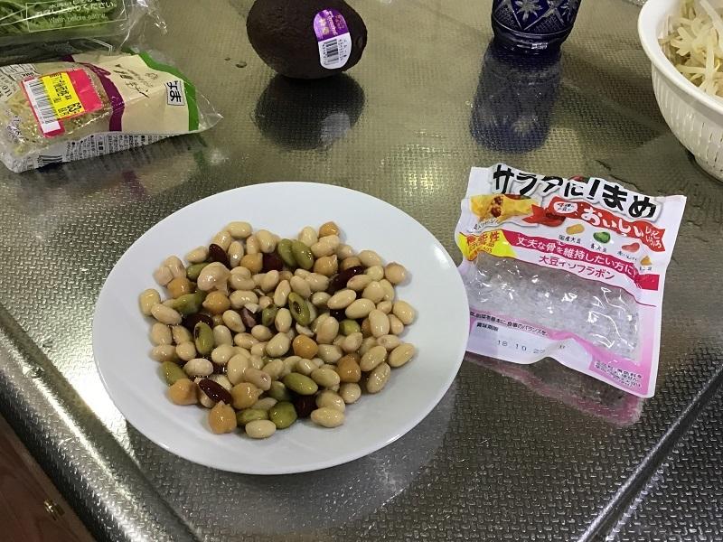 パリパリ麺サラダ2