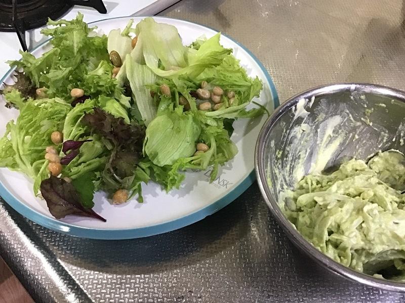 パリパリ麺サラダ5