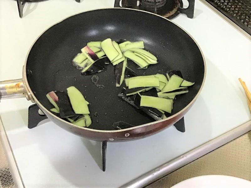 ナスのユッケ風丼ぶり5 (2)