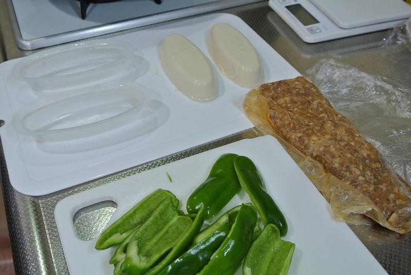 豆腐とハンバーグ6