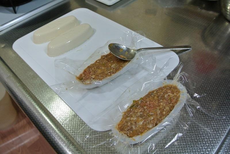 豆腐とハンバーグ8