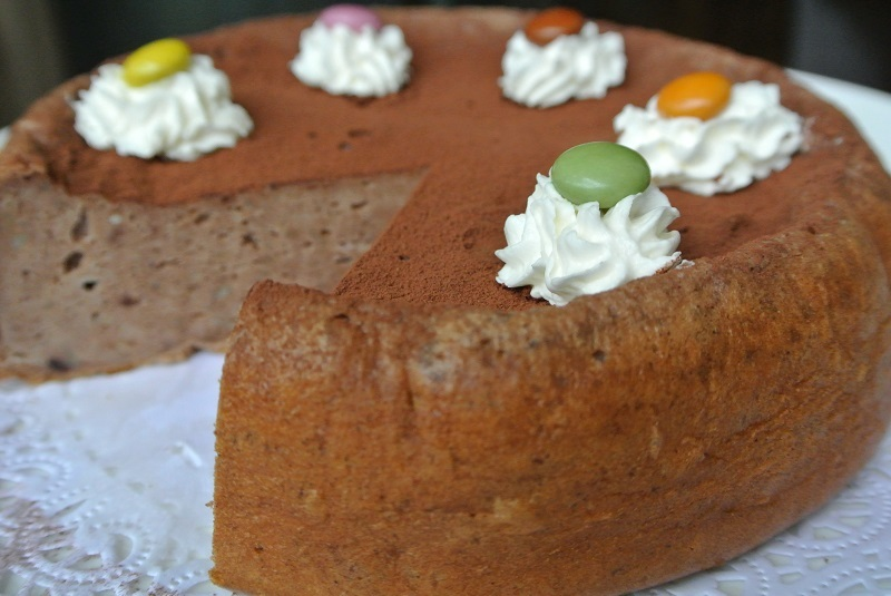 チョコレートチーズケーキ3