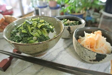 大根菜よごし (2)