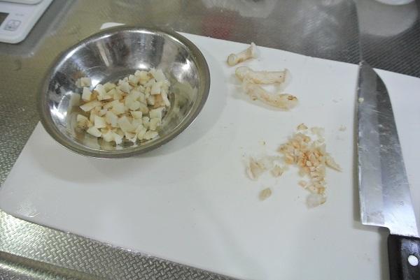 しいたけのチーズ焼き-レンコン1