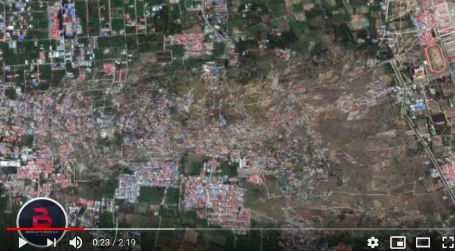 【M7.5】インドネシア地震での津波は「11メートル」を超えていた可能性…液状化で集落が飲み込まれていく動画が凄い