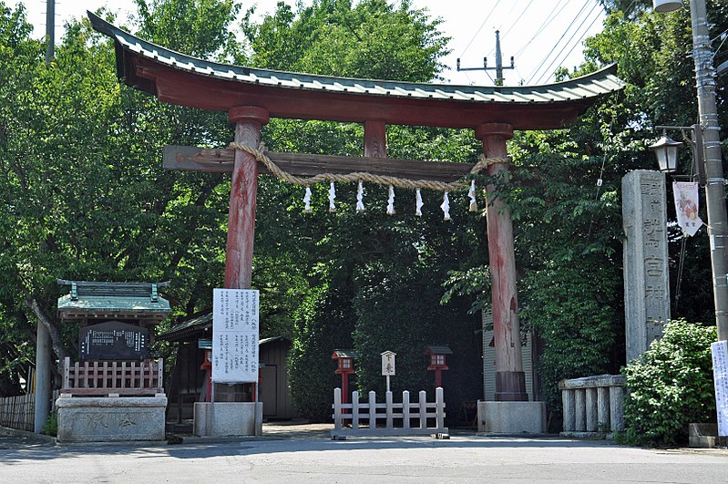 【不吉】埼玉県にある鷲宮神社の「鳥居」が倒壊…アニメ「らき☆すた」で有名な聖地