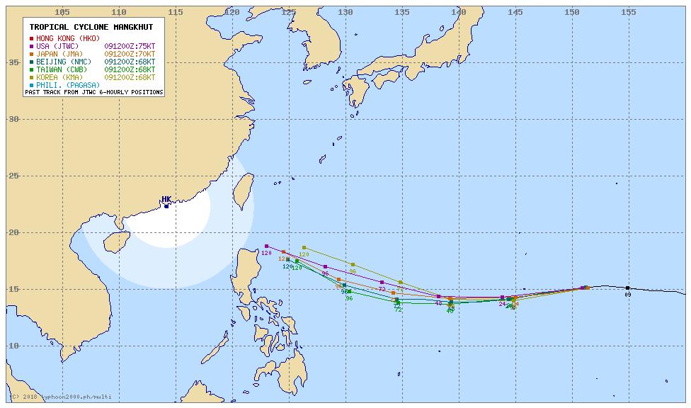 【マンクット】台風22号が今年最強勢力に発達か…北上の可能性低く、週末は沖縄や台湾方面に影響