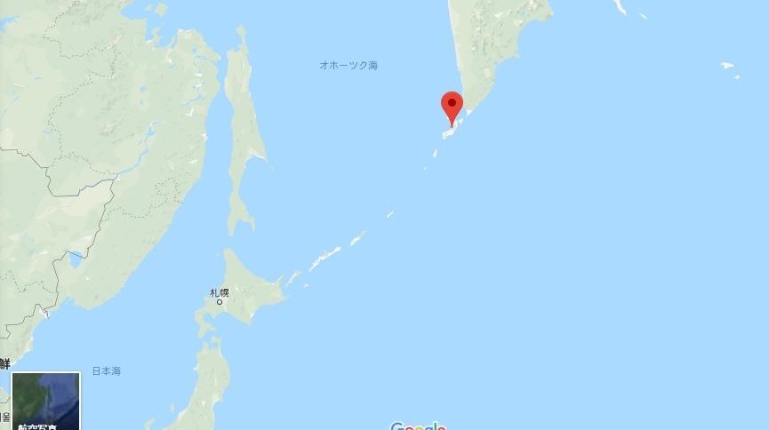 【千島列島】クリル諸島のエベコ火山が噴火…2000メートルの噴煙を上げる