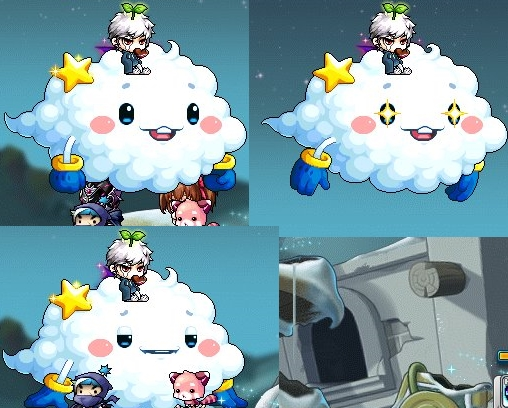 フライ雲表情