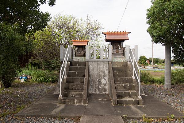 福田川神社社二社