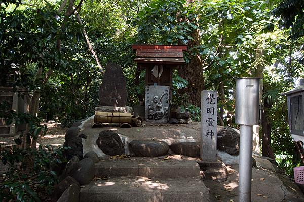 東茶屋神明社御嶽社