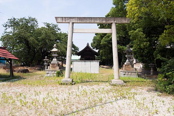 東茶屋神明社二の鳥居