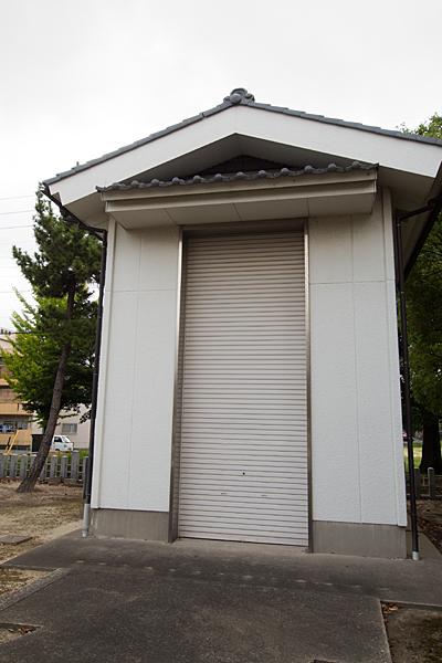 春田野神明社祭器庫