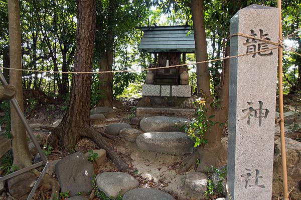 茶屋後神明社龍神社