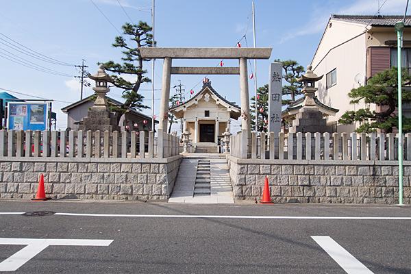 西福田3熱田社