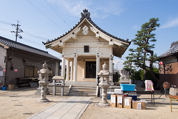 西福田3熱田社拝殿