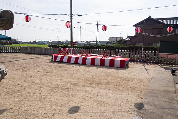 西福田3熱田社祭りの後