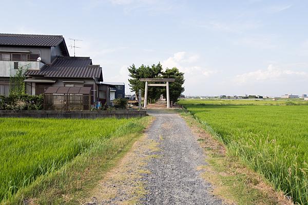 畑中神明社