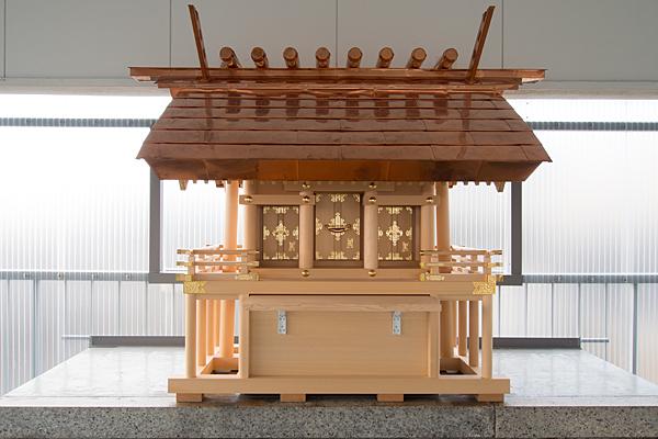 九番町素盞嗚神社新しいお社