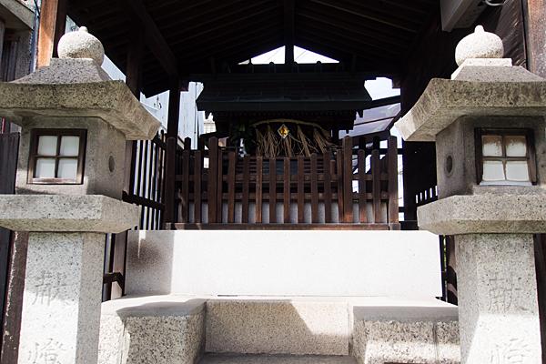 北山八幡社正面