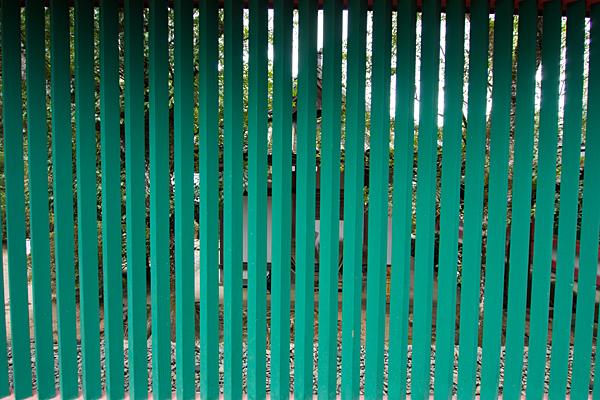 石上神宮緑の格子