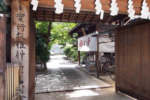 参神社入り口
