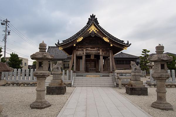 秋葉秋葉社拝殿