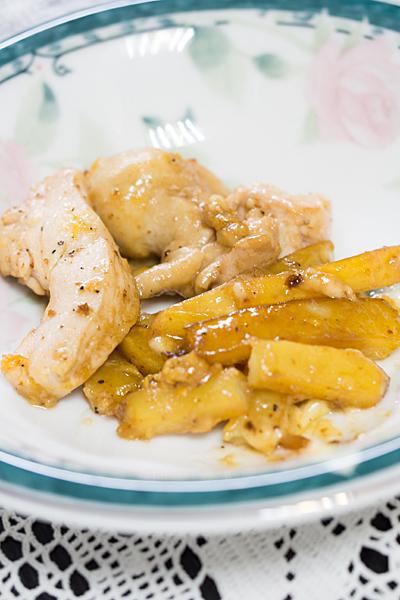 鶏肉とジャガイモ