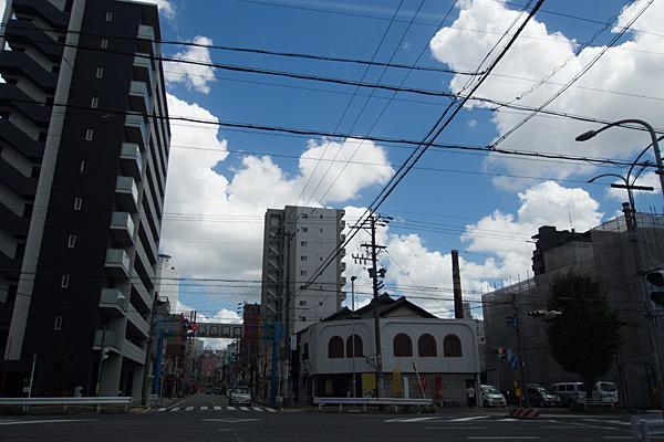 名古屋駅西商店街夏