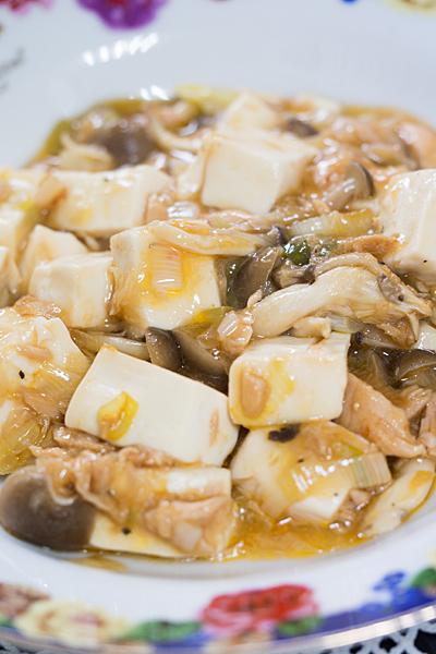 豆腐のピリ辛