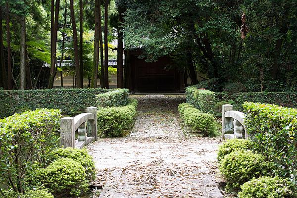 妙興寺池と橋