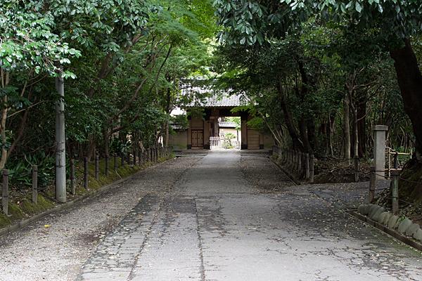 妙興寺入り口参道