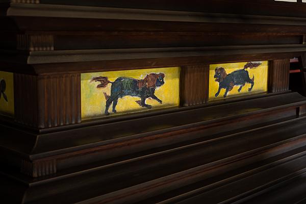 妙興寺獅子の絵