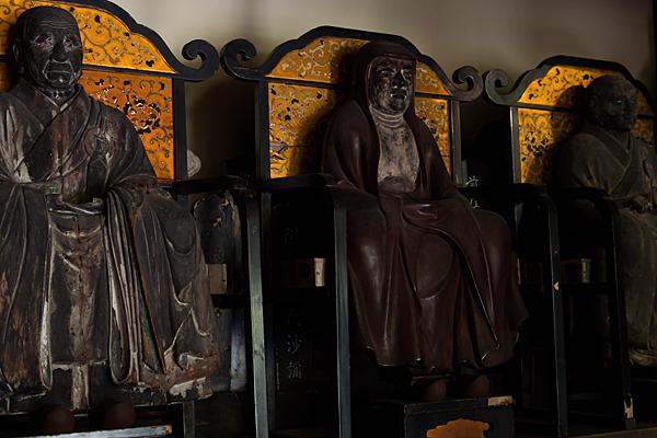 妙興寺仏像三体
