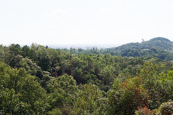 犬山寂光院高台からの眺め